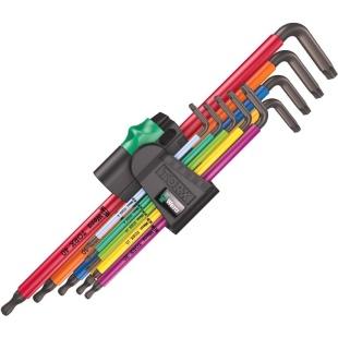 סט מפתחות כוכב - WERA 967/9 TX XL MC HF 1 WERA
