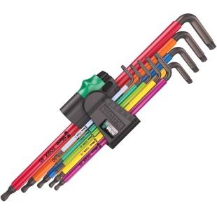 סט מפתחות כוכב - WERA 967/9 TX XL MC 1 WERA