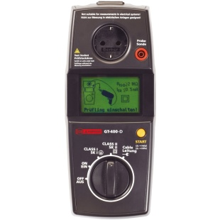 בודק מכשירי חשמל - BEHA AMPROBE GT-400-D BEHA-AMPROBE