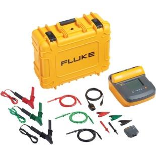 מודד התנגדות בידוד דיגיטלי פלוק - FLUKE 1550C FC KIT IR3000 FLUKE