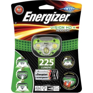 פנס ראש מקצועי - ENERGIZER HDC321 - 225 LUMENS ENERGIZER