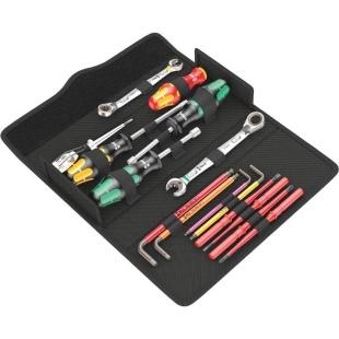 קיט כלי עבודה מקצועי לטכנאי תחזוקה - WERA KK SH 2 PLUMBKIT WERA
