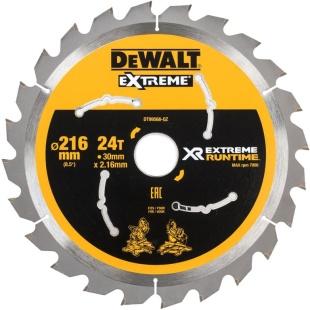להב מסור גרונג / פנדל - 216 מ''מ - 24 שיניים - DEWALT DT99568-QZ DEWALT