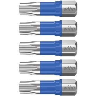 חבילת ביטים למברגה - ראש כוכב - WIHA 41604 - T10 X 25MM WIHA