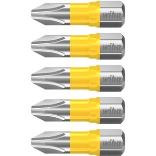 חבילת ביטים למברגה - ראש פיליפס - WIHA 41586 - PH2 X 25MM WIHA