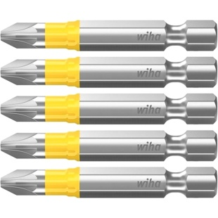 חבילת ביטים למברגה - ראש פוזידרייב - WIHA 41628 - PZ2 X 50MM WIHA