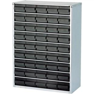 ארונית אנטי סטטית לאחסון רכיבים - 45 מגירות - 417X306X150MM RAACO