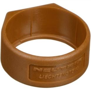 טבעת סימון חומה למחברי NEUTRIK XCR-1 - XLR NEUTRIK