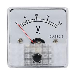 מד מתח (וולטמטר) אנלוגי - 81X81MM 0-30V MULTICOMP
