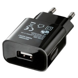 ספק כח ממותג 100-240VAC > USB 5VDC 1000MA PRO-POWER