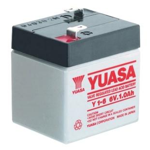 מצבר עופרת נטען - YUASA NP1-6 - 6V 1.0AH YUASA