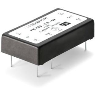 מסנן EMC / RFI למעגל מודפס - סדרה 6.5A - FN409 SCHAFFNER