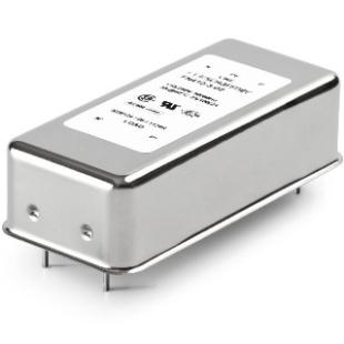מסנן EMC / RFI למעגל מודפס - סדרה 0.5A - FN410 SCHAFFNER