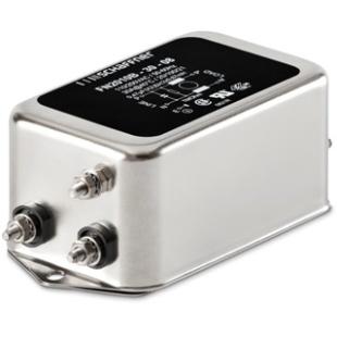 מסנן EMC / RFI עם חיבור לפאנל - סדרה 16A - FN2010 SCHAFFNER