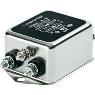 מסנן EMC / RFI עם חיבור לפאנל - סדרה 6A - FN2020 SCHAFFNER