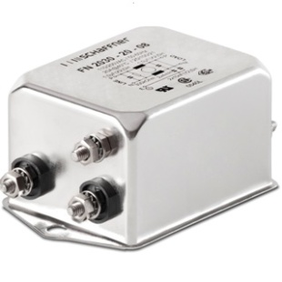 מסנן EMC / RFI עם חיבור לפאנל - סדרה 16A - FN2030 SCHAFFNER