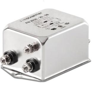 מסנן EMC / RFI עם חיבור לפאנל - סדרה 6A - FN2030B SCHAFFNER
