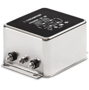 מסנן EMC / RFI עם חיבור לפאנל - סדרה 12A - FN2060 SCHAFFNER