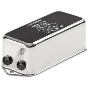 מסנן EMC / RFI עם חיבור לפאנל - סדרה 12A - FN2070 SCHAFFNER