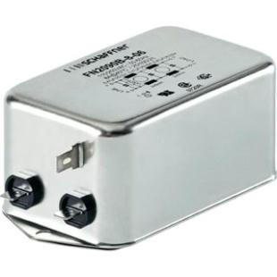 מסנן EMC / RFI עם חיבור לפאנל - סדרה 6A - FN2090B SCHAFFNER