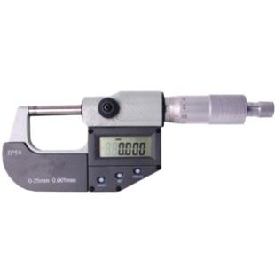 מיקרומטר דיגיטלי מקצועי - מוגן מים 0MM ~ 25MM HITEC