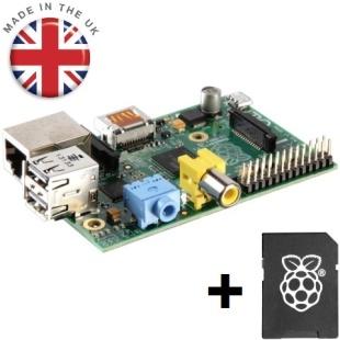 קיט פיתוח - RASPBERRY PI - MODEL B - 8GB SD BUNDLE RASPBERRY PI