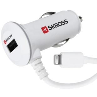 ספק לרכב - MIDGET PLUS LIGHTNING USB CAR CHARGER SKROSS