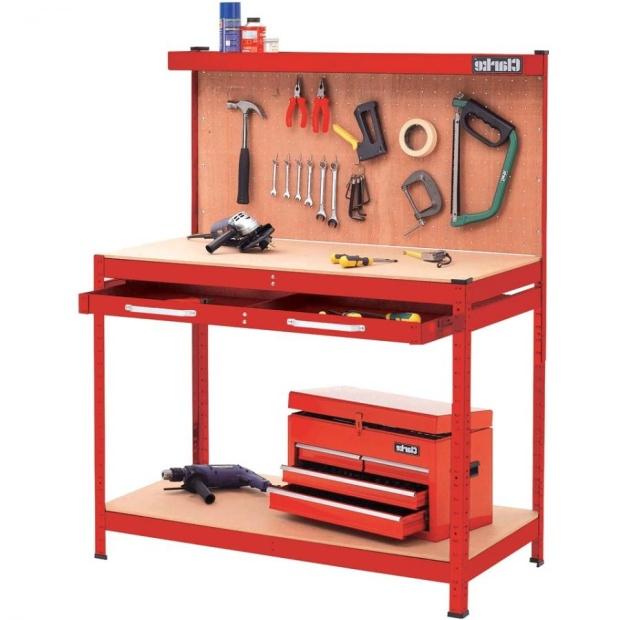 שולחן עבודה מקצועי מפלדה - CWB-R1 CLARKE