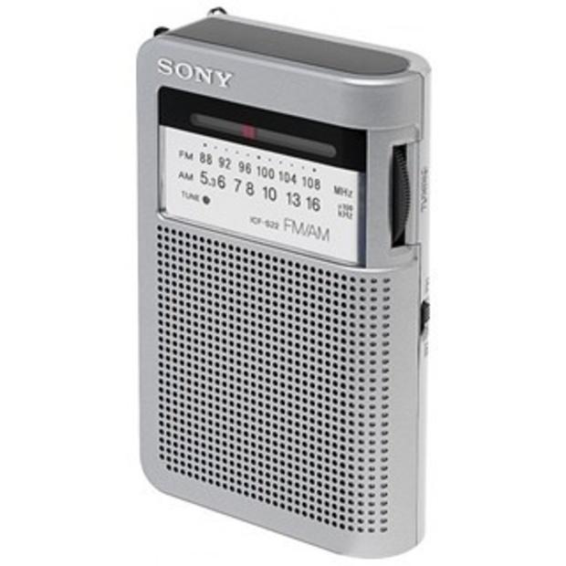 רדיו AM/FM נייד עם רמקול - SONY ICF-S22 SONY