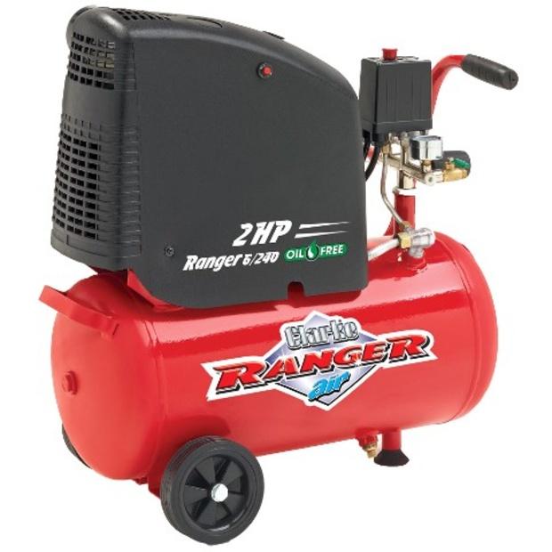 קומפרסור 24 ליטר ללא שמן - RANGER 6/240 CLARKE