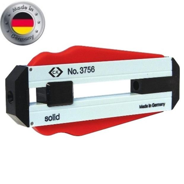 מסיר בידוד מקצועי לכבלים - CK TOOLS T3756 100 - 1.0MM / 18AWG CK TOOLS