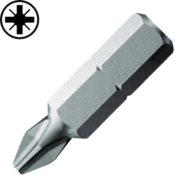 חבילת ביטים למברגה - ראש פוזידרייב - PZ0 X 25MM DURATOOL