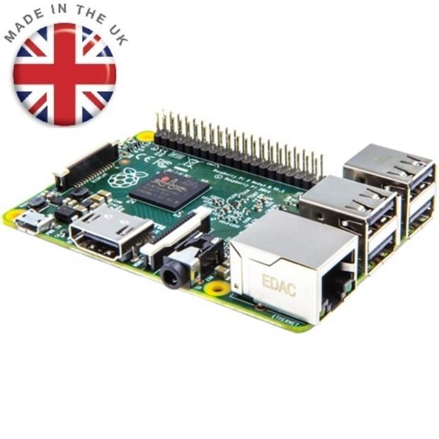 כרטיס פיתוח - ASPBERRY PI 2 - MODEL B V1.2 RASPBERRY PI