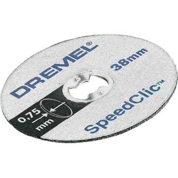 חבילת דיסקיות דקות לחיתוך מתכת - DREMEL EZ SPEEDCLIC SC409 DREMEL