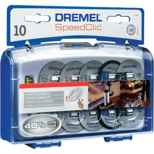 ערכת 10 דיסקיות חיתוך - DREMEL EZ SPEEDCLIC SC690 DREMEL