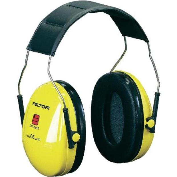 אוזניות הגנה מקצועיות נגד רעש - OPTIME I HEADBAND PELTOR