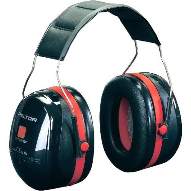 אוזניות הגנה מקצועיות נגד רעש - OPTIME III HEADBAND PELTOR
