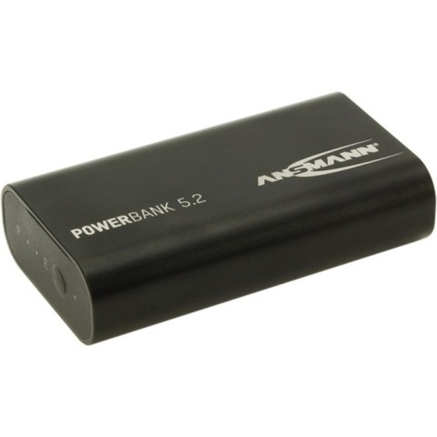 סוללת גיבוי וטעינה חיצונית - ANSMANN POWER BANK 5.2AH ANSMANN