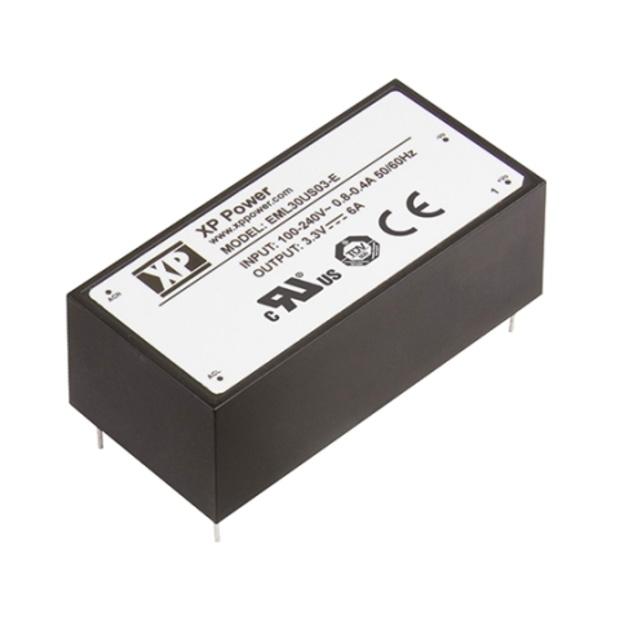 ספק כוח AC/DC למעגל מודפס - 30W - 85V~264V ⇒ 9V / 3.33A XP POWER
