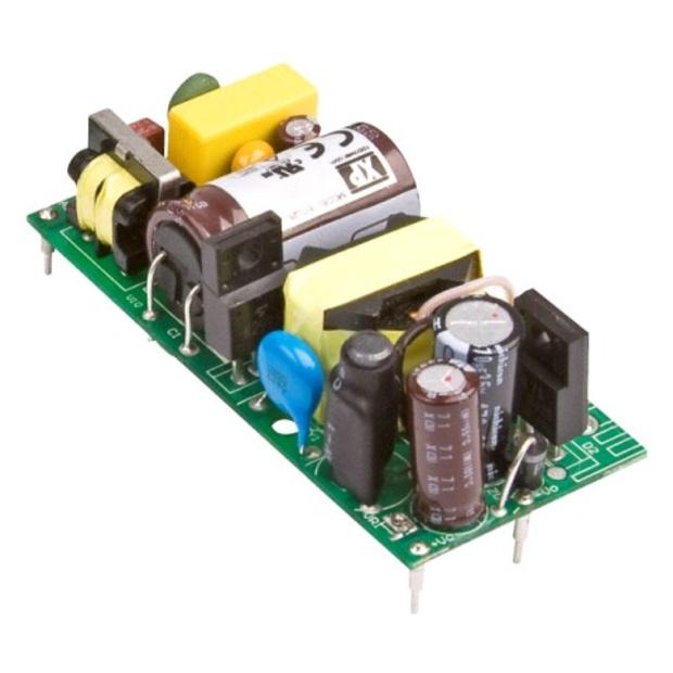 ספק כוח AC/DC למעגל מודפס - 25W - 85V~264V ⇒ 5V / 5A XP POWER