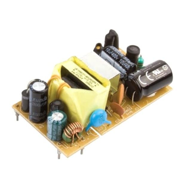 ספק כוח AC/DC למעגל מודפס - 15W - 90V~264V ⇒ 15V / 900MA XP POWER