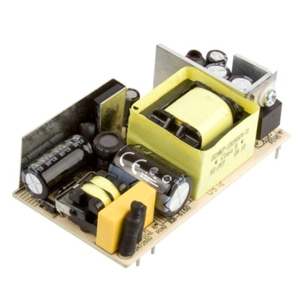 ספק כוח AC/DC למעגל מודפס - 12.5W - 90V~264V ⇒ 5V / 2.5A XP POWER