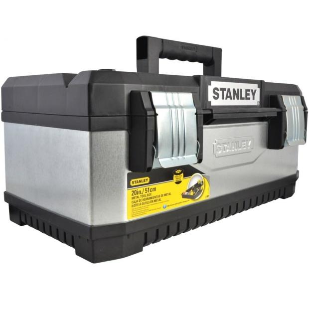 ארגז כלים מקצועי מפלדה מגולוונת - STANLEY 1-95-618 STANLEY