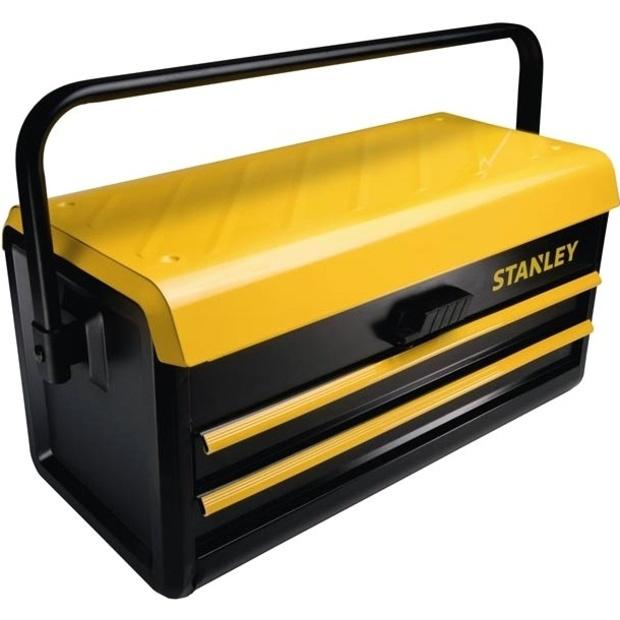 ארגז כלים מקצועי מפלדה עם 2 מגירות אחסון - STANLEY STST1-75510 STANLEY