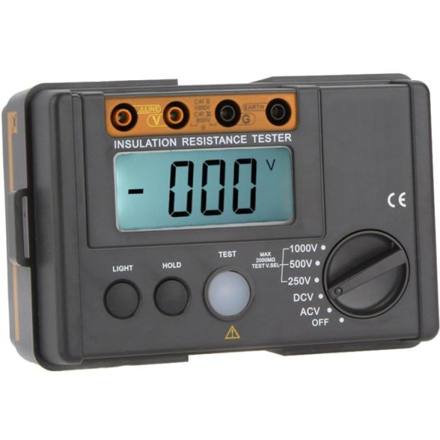 מודד התנגדות / בידוד דיגיטלי - TENMA 72-9400A - 250V ~ 1000V TENMA