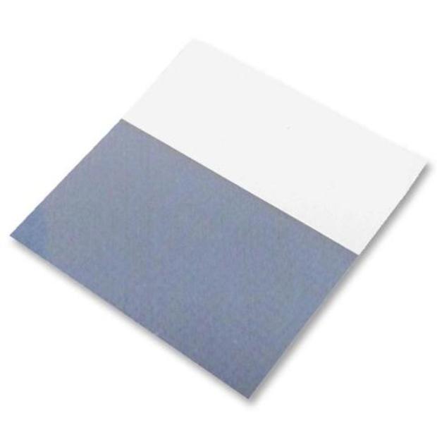 חבילת מדבקות סימון לכבלים - 25X10MM - WRAP AROUND SILVER FOX