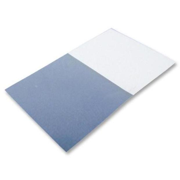 חבילת מדבקות סימון לכבלים - 25X18MM - WRAP AROUND SILVER FOX