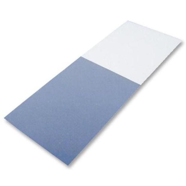 חבילת מדבקות סימון לכבלים - 25X30MM - WRAP AROUND SILVER FOX