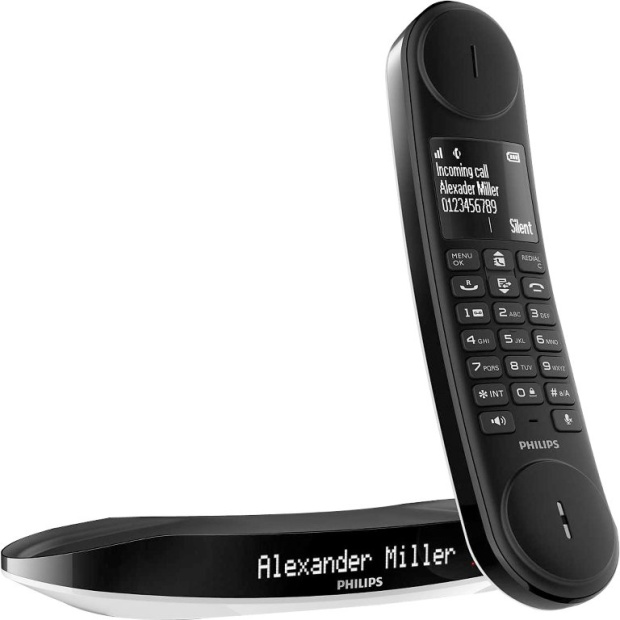 טלפון אלחוטי מעוצב - PHILIPS LUCEO PHILIPS