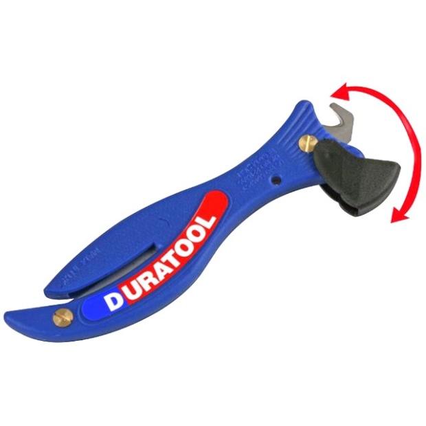 סכין בטיחות - DURATOOL FISH STYLE DURATOOL